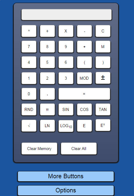 Pic of Calculator App