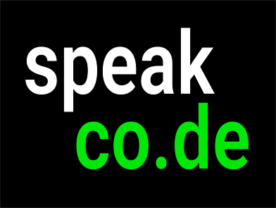 Speakco.de - Learn to speak the language of code.